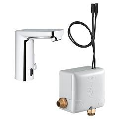 Grohe 36386001 Electronic basin mixer - infrared control - with powerbox - chrome Eurosmart Cosmopolitan E Powerbox
