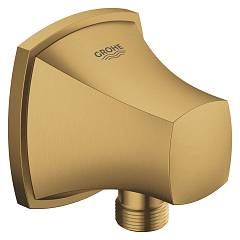 Grohe 27970gn0 Shower spout connection - brushed gold Grandera