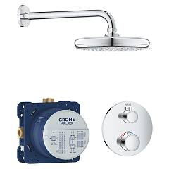 Grohe 34726000 Tuš set - chrome Grohtherm