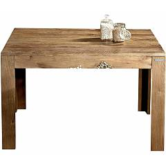 Guarnieri Eucalipto Extendable table in old elm