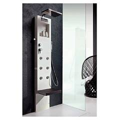 sale Hafro Rigenera 200 - 4ria2n0 Shower Column Cm. 199 X 35 X 11 - White Corian