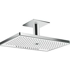 Hansgrohe 24006400 Ceiling shower head - white / chrome Rainmaker Select 460