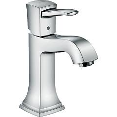 Hansgrohe 31301000 Single lever mixer without pop-up waste - chrome Metropol Classic