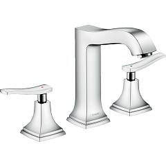 Hansgrohe 31331000 Tippen sie mit popup-abfall - chrom Metropol Classic