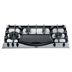 Hotpoint Ariston Ph 941mstb Gh/ha Hob built-cm. 90 - inox 4 burners + grill