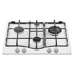Hotpoint Ariston Pcn 642 T/ha(wh) Gas cooking top cm. 60 - white
