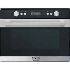 Hotpoint Ariston Ms 767 Ix Ha Combined steam oven cm. 60 - inox black glass Class 7