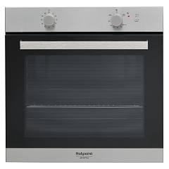 Hotpoint Ariston Ga3 124 Ix Ha 60 cm gas oven - stainless steel and black glass