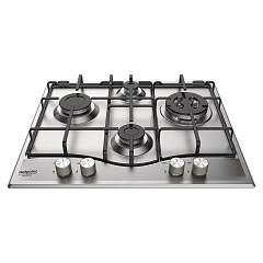Hotpoint Ariston Pcn 642 T/as/ha 60 cm gas built-in hob - scratch-resistant stainless steel