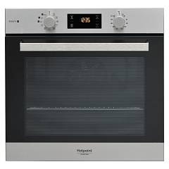 Hotpoint Ariston Fa3s 844 P Ix Ha Pyrolytic steam combined oven cm. 60 - stainless steel / black glass