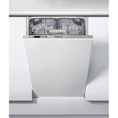 Hotpoint Ariston Hsic 3t127 C Dishwasher 45 cm - 10 place settings - total integrated