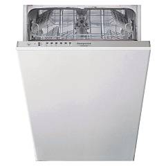 Hotpoint Ariston Hsie 2b19 Dishwasher 45 cm - 10 place settings - total integrated