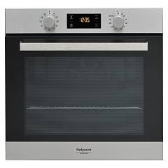 Hotpoint Ariston Fa3 841 H Ix Ha Oven zgrajena cm. 60 - inox black glass Class 3