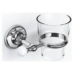 sale Ibb Vn02c - Venezia Glass Holder Metal And Glass