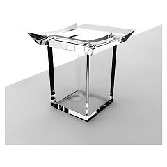 sale Ibb Fi22a - Firenze Glass - Acrylic- Chrome-plated Standing