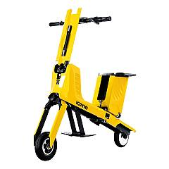 Icone Voyager Transformable electric bicycle - yellow