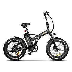 Icone Allroad Electric bicycle - pure black
