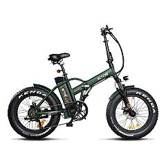 Icone Allroad Plus Electric bicycle - marine green