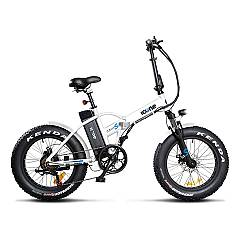 Icone Allroad Plus Electric bicycle - white navy