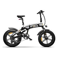 Icone Icross-x7 Electric bicycle - blackened silver