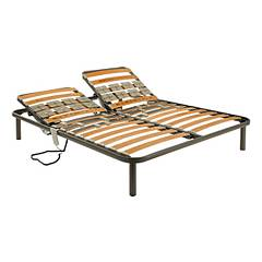 Ideare Basic Deluxe Motorized bed base with single steel frame 1 and a half square | matrimonial