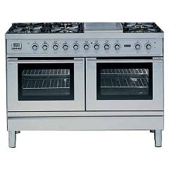 Ilve Pd-120 Kitchen from accosto cm. 120 4 fires + fry top + 2 induction zones + 2 electric ovens Professional Plus Hi Tech