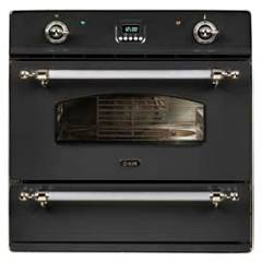 sale Ilve 600cze4sc - Country Oven Built Cm. 60 - Steel Or Coloured With Drawer Accessories