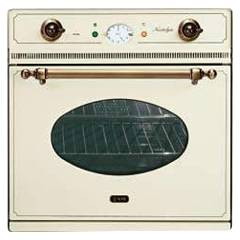 Ilve 600ncvg - Nostalgie Country Oven built-in gas cm. 60 - in stainless steel or colored Country