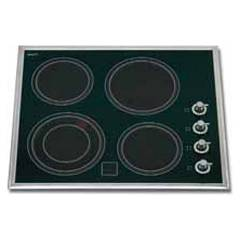 Ilve V364 Recessed electric cooking top cm. 55 - black ceramic glass Tradition
