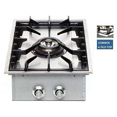 Ilve Hft40d Filotop cooking top cm. 38 - inox front controls Professional
