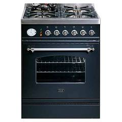Ilve P60nvg Kitchen from accosto cm. 60 4 fires + 1 gas oven Nostalgie