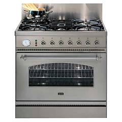 Ilve P80nmp Kitchen from accosto cm. 80 4 fires + pescera + 1 electric oven Nostalgie