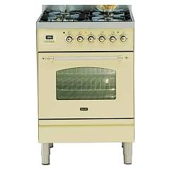 Ilve Pn60vg Kitchen from accosto cm. 60 4 fires + 1 gas oven Nostalgie Professional Plus