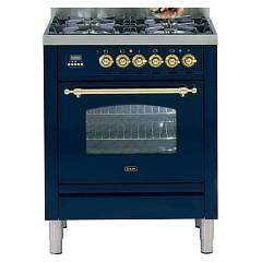 Ilve Pn70vg Kitchen from accosto cm. 70 4 fires + 1 gas oven Nostalgie Professional Plus