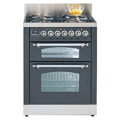 Ilve Pdn70e3 Kitchen from accosto cm. 70 4 fires + 2 electric ovens Nostalgie Professional Plus