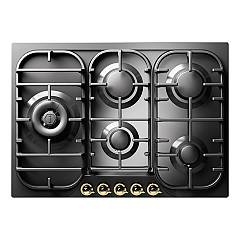 Ilve Hcb70sn Gas hob cm. 70 - inox or colored Nostalgie