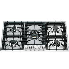 Ilve Hp95c Gas cooking top cm. 90 - inox Professional Plus