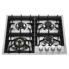 Ilve Hpt65 Filotop gas hob cm. 60 - stainless steel Professional Plus
