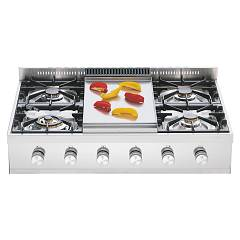 Ilve Hp90 Gas / induction hob cm. 90 countertop configurable - stainless steel Professional Plus