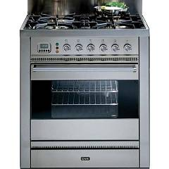 Ilve Ps 120 Hi Tech Professional Plus Kitchen To Approach Cm. 120 ...