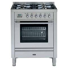 Ilve P-70-vg Kitchen from accosto cm. 70 4 fires + 1 gas oven Professional Plus Hi Tech