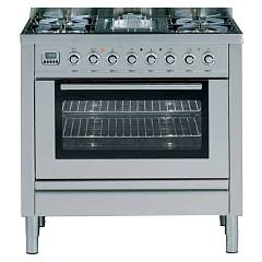 Ilve P-90 Kitchen from accosto cm. 90 6 fires + 1 electric oven Professional Plus Hi Tech