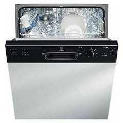 Indesit Dpg 16b1 A K Eu Dishwasher cm. 60 - 13 cover - integriertes integriertes black dashboard