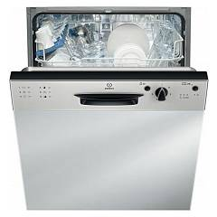Indesit Dpg 16b1 A Nx Eu Dishwasher cm. 60 - 13 cover - inox integrierte partielle dashboard