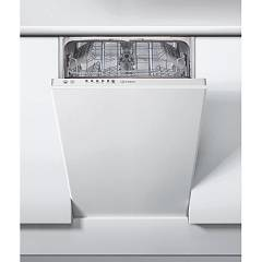 Indesit Dsie2b10id Built-in dishwasher cm. 45 - covered 10 - white