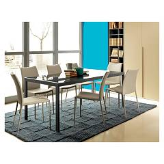 Ingenia Casa Amy Chair in steel covered