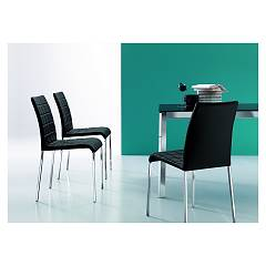 sale Ingenia Casa Anita Chair In Metal And Eco-leather