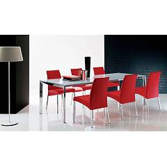Ingenia Casa Elias Chair in metal and ecological leather