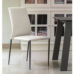 sale Ingenia Casa Kendra Chair In Metal And Eco-leather