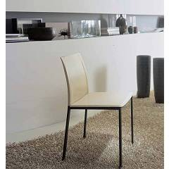 sale Ingenia Casa Galizia Chair In Metal And Fiber Leather